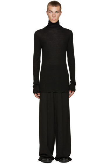 Lanvin - Black Merino Turtleneck