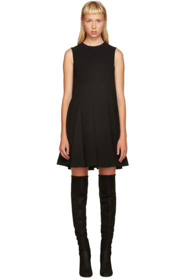 Alexander McQueen - Black Trapeze Dress