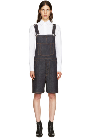Givenchy - Indigo Denim Overalls