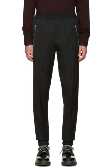 Givenchy - Black Wool Trousers