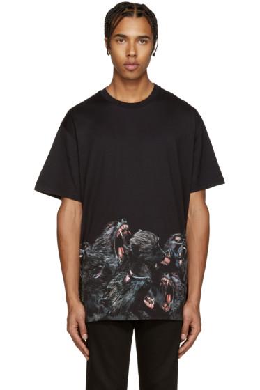 Givenchy - Black Monkey T-Shirt