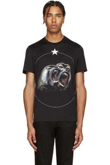 Givenchy - Black Monkey Brothers T-Shirt