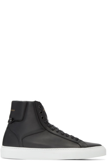 Givenchy - Black Urban Knots High-Top Sneakers