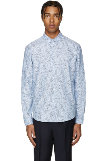 Carven - Blue Skateboard Shirt