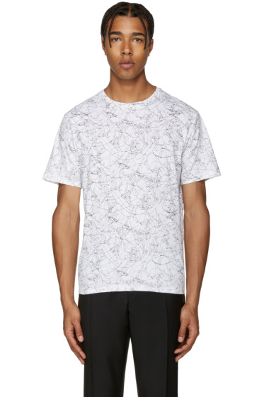 Carven - White Skateboard T-Shirt