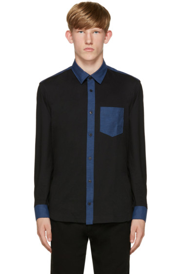 Kenzo - Black Colorblocked Shirt