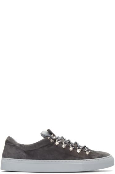 Diemme - Grey Suede Marostica Sneakers