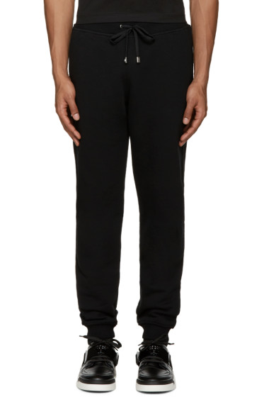 Versus - Black Logo Lounge Pants