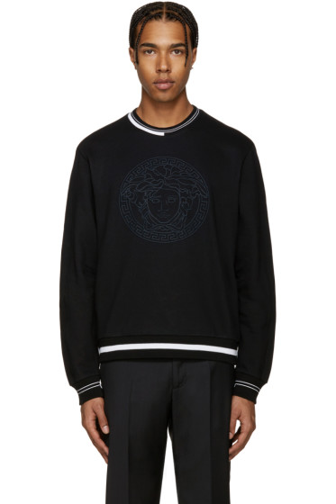 Versace - Black Logo Pullover