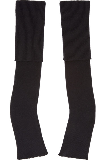 Stella McCartney - Black Long Fingerless Gloves