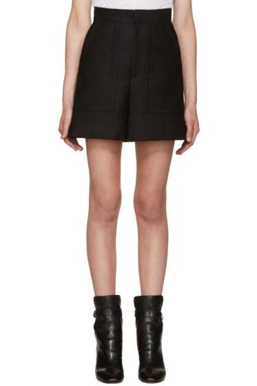 Isabel Marant - Black Satia Shorts