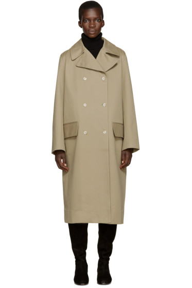 Studio Nicholson - Khaki Hopper Trench Coat