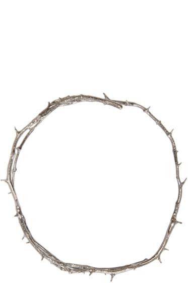 Pearls Before Swine - Silver Thorn Choker