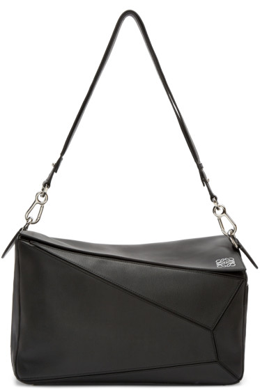 Loewe - Black Extra Large Puzzle Bag