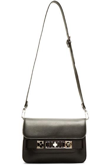 Proenza Schouler - Black Leather PS11 Mini Classic Shoulder Bag