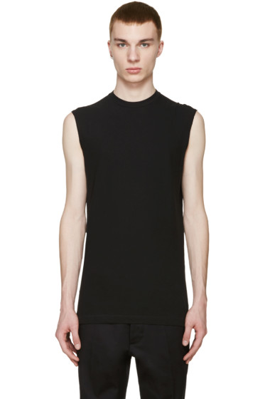 Dsquared2 - Black Long Twisted T-Shirt