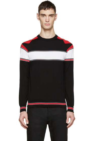 Givenchy - Tricolor Knit Star Sweater