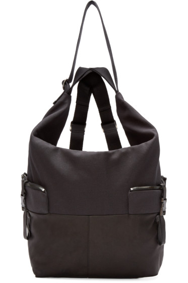 Côte & Ciel - Black Medium Ganges Alias Backpack