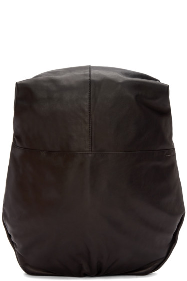 Côte & Ciel - Black Leather Nile Alias Backpack