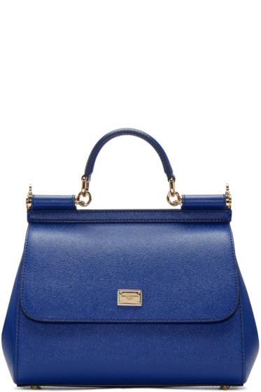 Dolce & Gabbana - Blue Medium Miss Sicily Bag