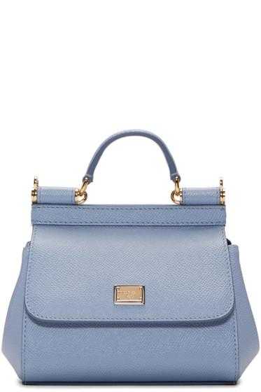 Dolce & Gabbana - Blue Micro Miss Sicily Bag