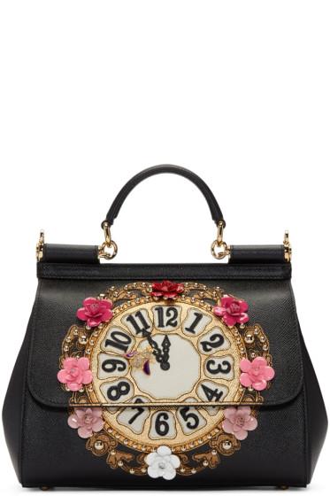 Dolce & Gabbana - Black Medium Miss Sicily Bag