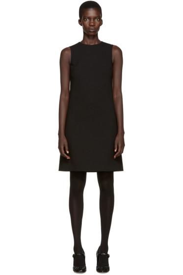 Dolce & Gabbana - Black Wool Crepe Dress