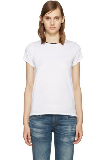 Rag & Bone - White Rib Base T-Shirt