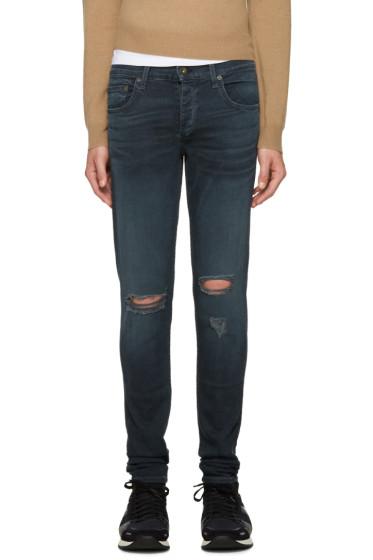 Rag & Bone - Blue Standard Issue Jeans