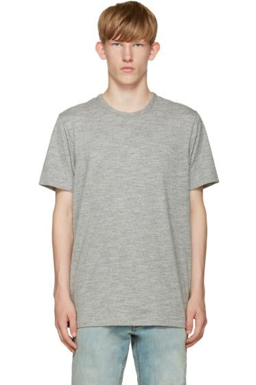 Rag & Bone - Grey Jersey T-Shirt