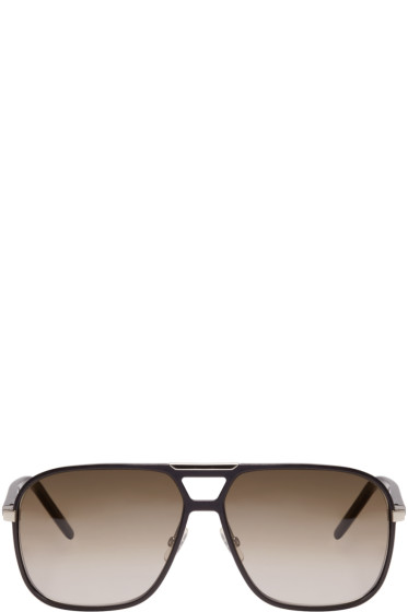 Dior Homme - Black Aviator Sunglasses