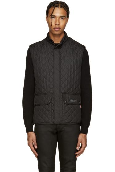 Belstaff - Black Quilted Vest