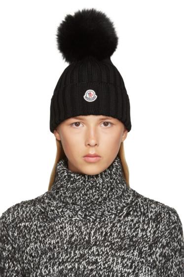 Moncler - Black Wool Beanie