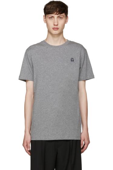 McQ Alexander Mcqueen - Grey Logo T-Shirt