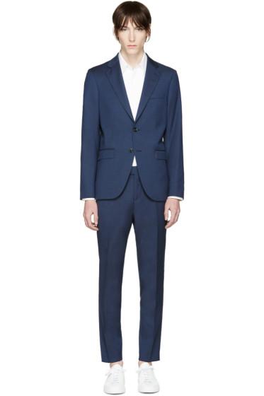 Tiger of Sweden - Navy Wool Gekko Suit