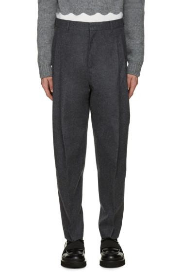 Acne Studios - Grey Flannel Piano Trousers