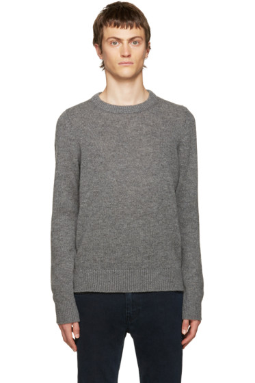 Acne Studios - Grey Kai Reverse Sweater