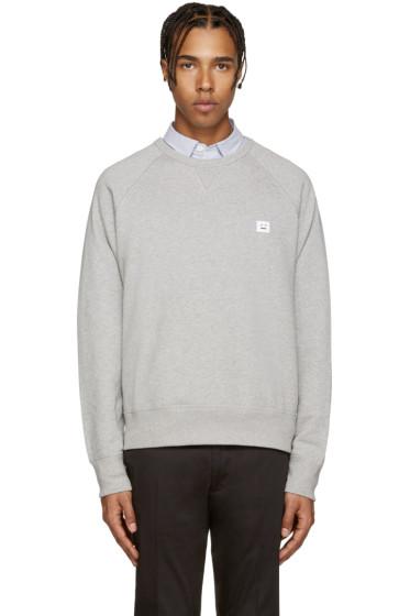 Acne Studios - Grey College Face Sweatshirt