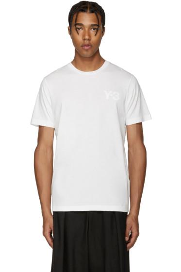 Y-3 - White Logo T-Shirt
