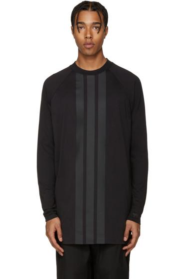 Y-3 - Black Stripe T-Shirt