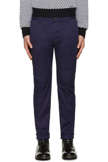 Dsquared2 - Blue Twiggy Boy Trousers