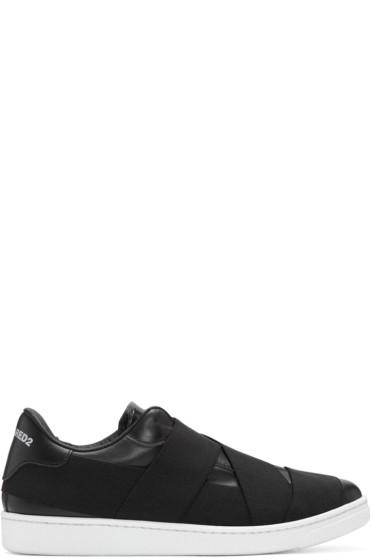 Dsquared2 - Black Strap Santa Monica Sneakers