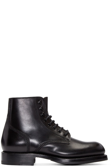 Dsquared2 - Black Leather Maxime Boots