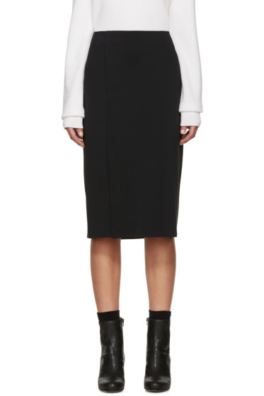 Helmut Lang - Black Neoprene Scura Skirt