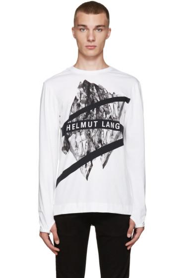 Helmut Lang - White Glacial T-Shirt