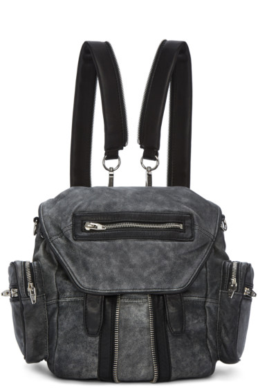 Alexander Wang - Black & White Mini Marti Backpack