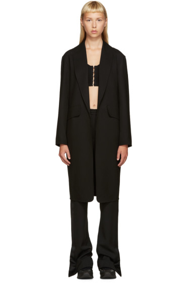 Alexander Wang - Black Wool Coat