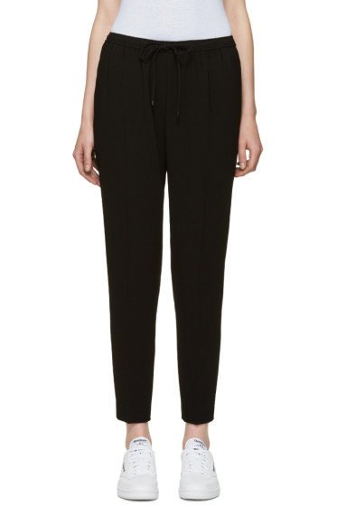 Alexander Wang - Black Drawstring Trousers