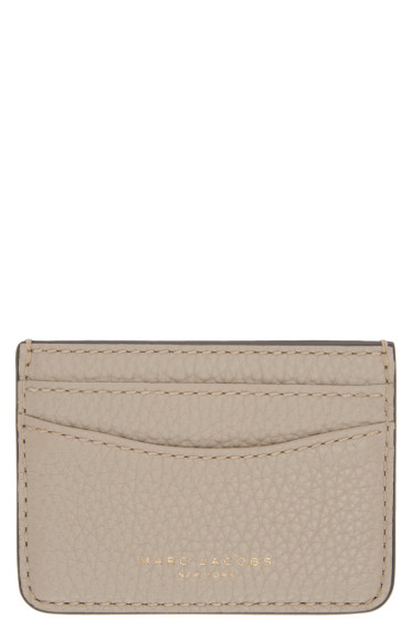 Marc Jacobs - Taupe Gotham City Card Holder