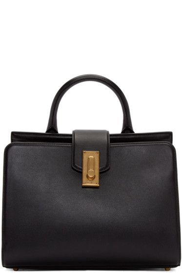 Marc Jacobs - Black Leather Small West End Handle Bag